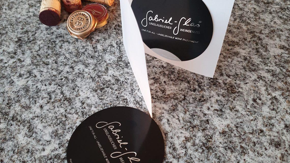 Gabriel-Glas Weinausgießer